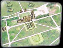 Bramham Park Map